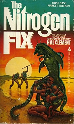 book cover of The Nitrogen Fix