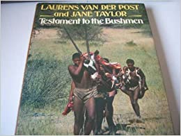 Book Testament to the Bushmen