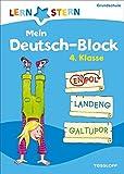 Mein Deutsch-Block 4. Klasse: Wortspiele, Bilderrätsel, Scherzfragen (LERNSTERN)