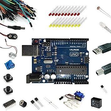 Vilros Uno Ultimate Starter Kit – Incluye guía de Tutorial para Arduino: Amazon.es: Electrónica