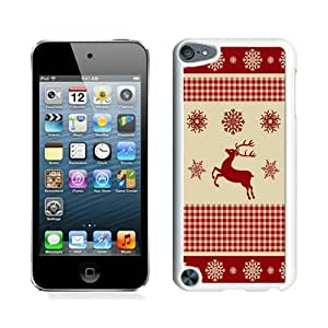 Design for Mass Customization Winter Pattern With Deer White iPod Touch 5 Case 1