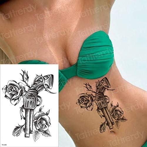tzxdbh Tatuaje a Prueba de Agua Tatuaje de Halloween para Mujeres ...
