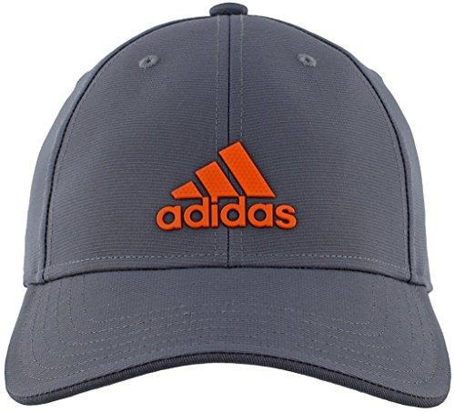 adidas Men's Decision Structured Adjustable Cap, Orange, One Size