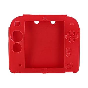 Amazon.com: Carcasa de silicona para Nintendo 2DS talla ...