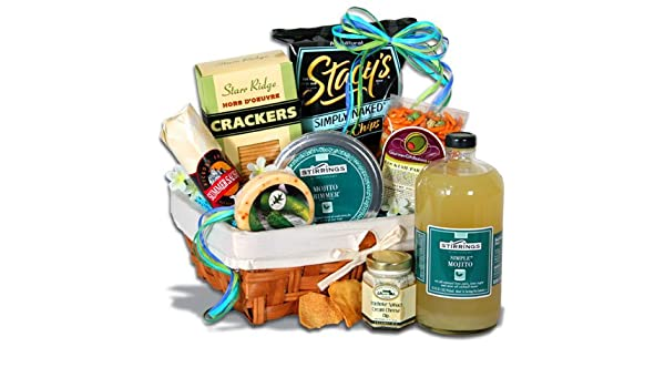 Amazon.com : Mojito Gift Basket™ : Gourmet Snacks And Hors Doeuvres Gifts : Grocery & Gourmet Food