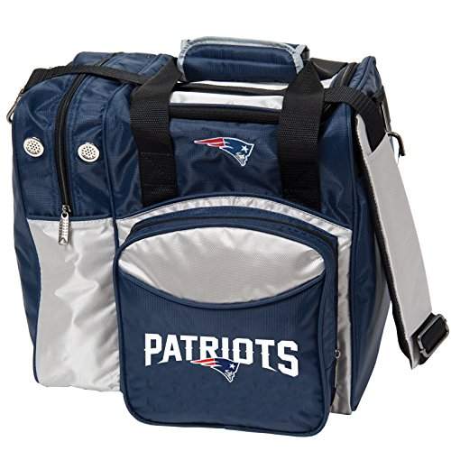 KR Strikeforce New England Patriots Single Bowling Bag, Multicolor