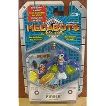 MEDABOTS - PINGEN FIGURE (PEN-16514) Includes game card & die! (2001)