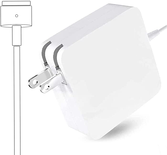Universal Charger, Mac Book Air Charger 45W T-Tip Connector Power Adapter Charging for Mac Book Air 11-inch and 13 Inch (After Mid 2012)
