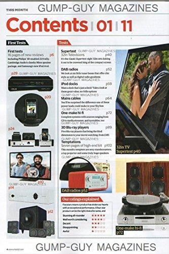 WHAT HI-FI SOUND AND VISION UK Magazine January 2011