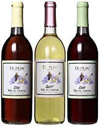 Duplin Wine Cellars Cool, Sweet and Easy Mixed Pack 3 x 750 mL Wine