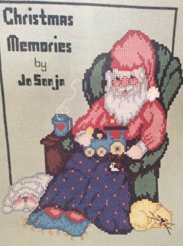 Christmas memories counted cross stitch bookLet