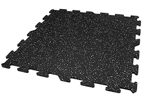 8mm Strong Rubber Tiles (1 - Border Tile, Grey 23