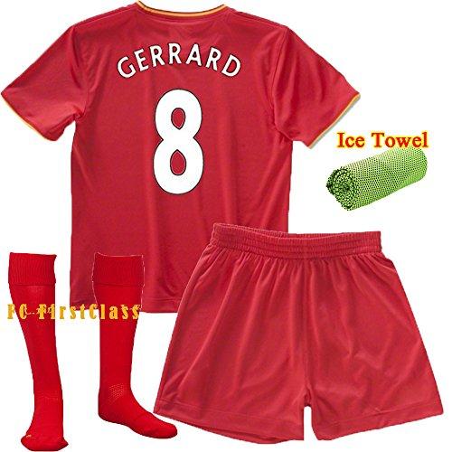 info for 69323 c0980 FC FirstClass 2017 New Football Soccer Kit Liverpool Gerrard ...