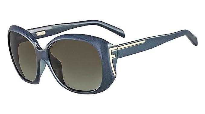 FENDI Gafas de Sol Gratuita de su Caso FS 5328 449: Amazon ...