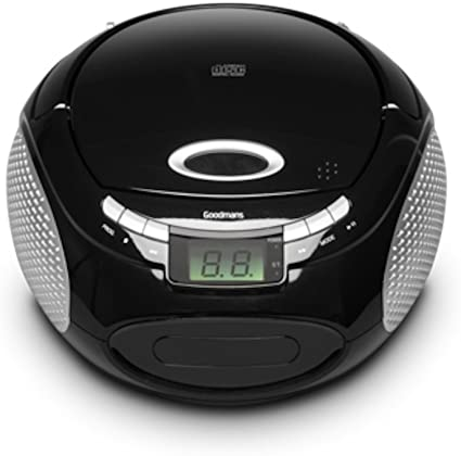 Goodmans - Caja para CD con Radio: Amazon.es: Electrónica