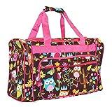 NGIL Owl Duffle Bag (Pink, Medium) (Pink)
