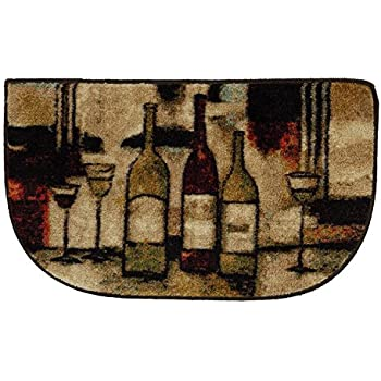 Amazon Com Mohawk Home New Wave Wine Amp Glasses Rug 1 6