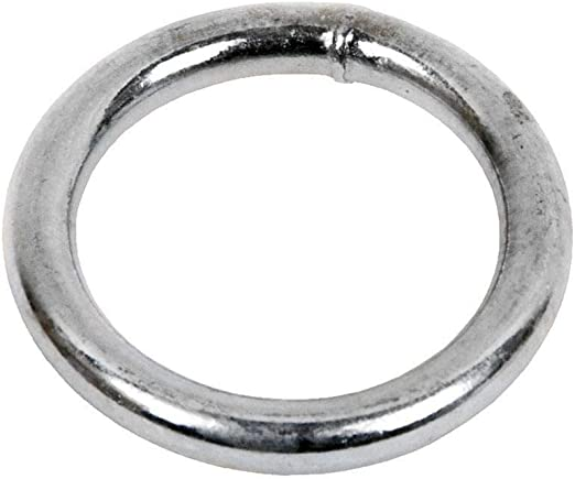 DOJA Industrial | Anillas Metalicas Soldadas | PACK 5 | 8 x 80 mm ...