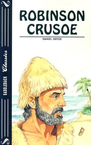 Book cover for Robinson Crusoe