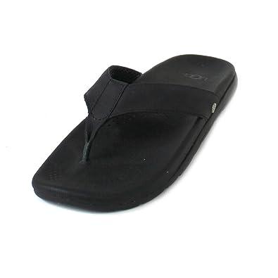 67ef0fee3ae UGG Men's Tenoch Luxe Flip Flops Water-Resistant Leather