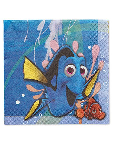American Greetings Finding Dory Lunch Napkins (16 - Napkins Finding Nemo