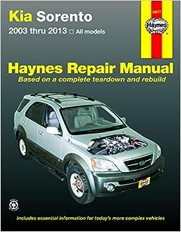 Kia Sorento 2003-13 (Haynes Automotive): Amazon.es: Haynes Publishing: Libros en idiomas extranjeros