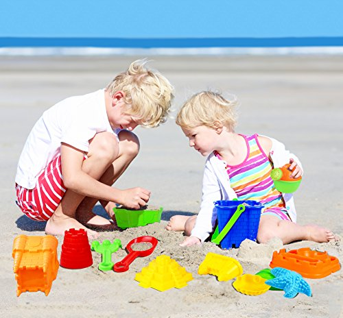 Click N Play 13 Piece Sand Castle Mold Set