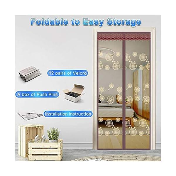 Zanzariera magnetica per porta – molte misure la vostra porta si adattano perfettamente – con chiusura in velcro Full… 2 spesavip