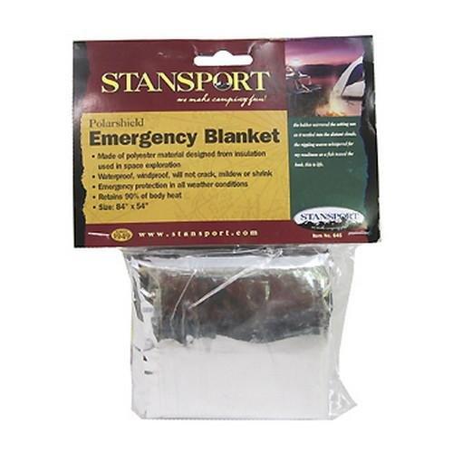 Stansport Polarshield Blanket Emergency (Polarshield Survival Blanket)