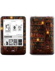 Tolino Shine Skins Ebook Reader Design Schutzfolie Skins Sticker Vinyl Aufkleber - Library