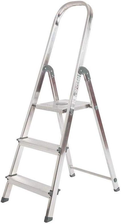 Escalera Rolser Aluminio Unica 3 Peldaños: Amazon.es: Bricolaje y ...
