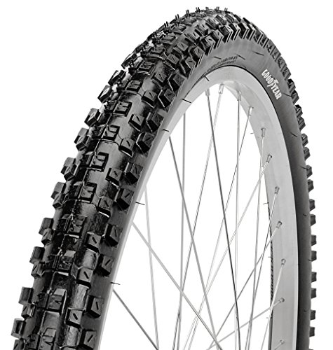 Goodyear Folding Bead Mountain Bike Tire, 26'' x 2.1'', Black by Goodyear