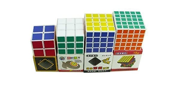 Rubik Cube Puzzle Game cerebro Twist velocidad mano Kid Niño Pack De 4 Casa Juguete jugar diversión. HN # GG _ 634t6344 g134548ty30864: Amazon.es: Juguetes y juegos