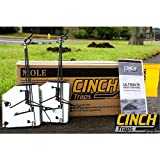 Cinch Mole Trap with Tunnel Marking Flag (Medium) Heavy-Duty, Reusable Rodent Trapping System | Lawn, Garden, and Outdoor Use | (Pack Of 2)