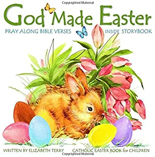 Easter books catholic god made easter catholic gifts for kids in catholic easter book for children god made easter watercolor illustrated bible verses catholic books negle Choice Image