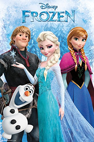 Trends International Frozen Group Collector's Edition Wall Poster 24