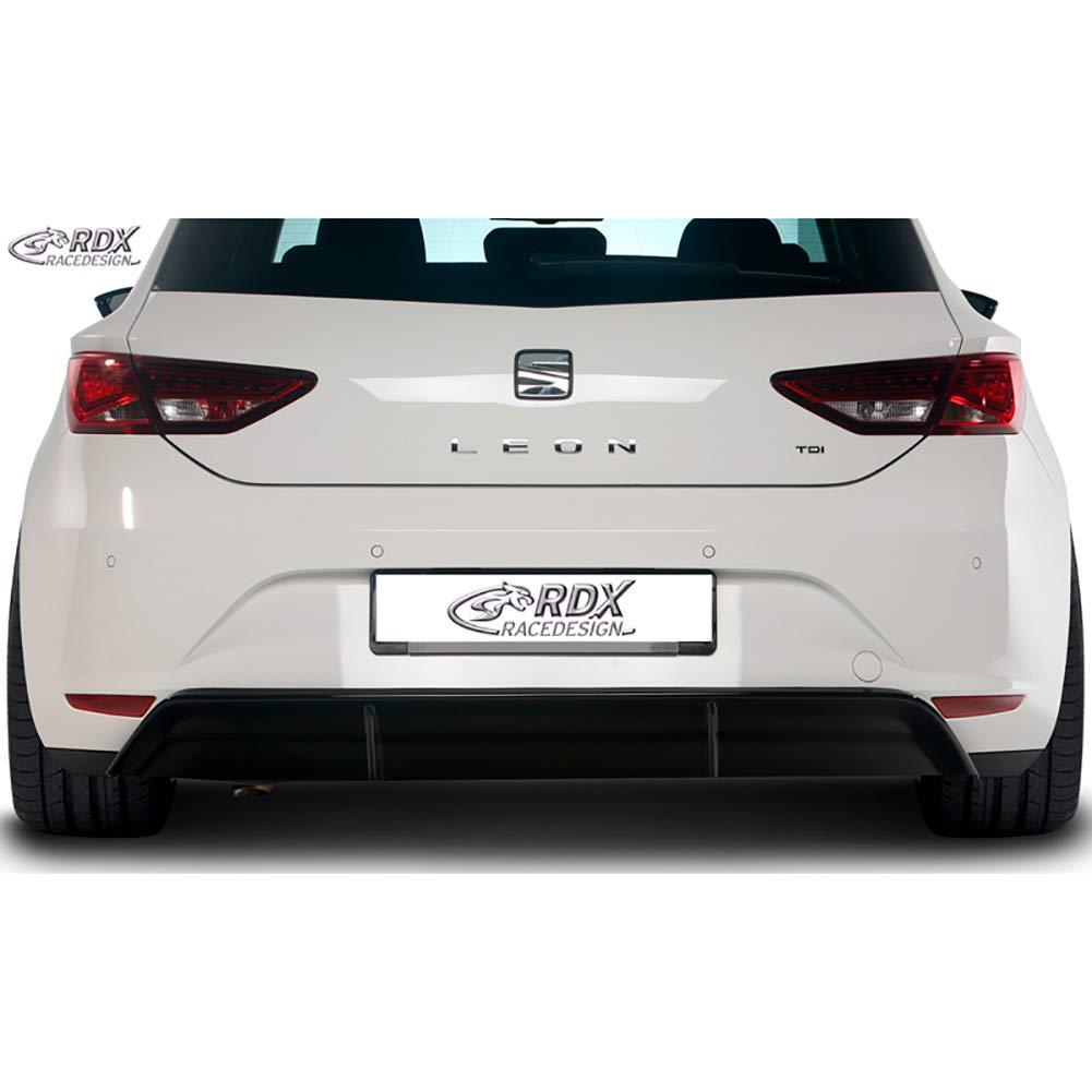 ABS lucido ST//FR//Cupra RDX Racedesign RDHA066/diffusore paraurti posteriore gonna  Seat Leon 5/F SC//porte 2013-excl nero