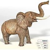 Elefant (Lebensgroß) - Tierfiguren - GR052