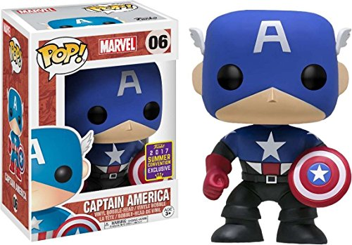 SDCC 2017 Exclusive Captain America Bucky Cap POP! Vinyl Fig