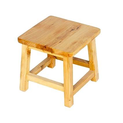 Fantastic Amazon Com Bath Stool Wooden Small Stool Waterproof Bath Theyellowbook Wood Chair Design Ideas Theyellowbookinfo