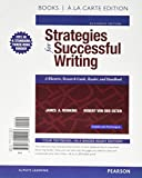 img - for Strategies for Successful Writing, Books a la Carte Edition Plus MyWritingLab with Pearson eText -- Access Card Package (11th Edition) book / textbook / text book