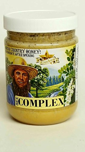 1 Lb Milk Thistle - Honey Bee COMPLEX - 4 types of honey & 4 most important Bee Hive products 1lb