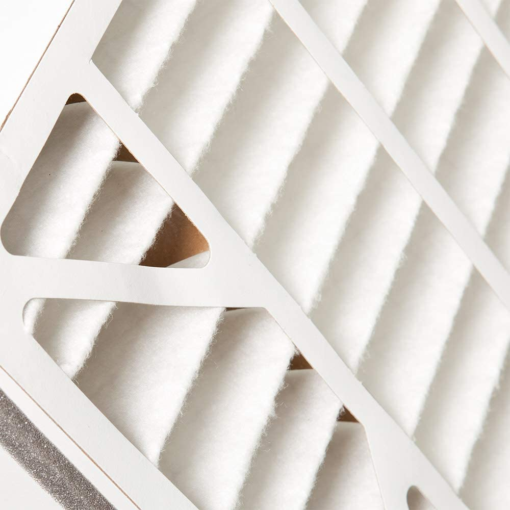 Nordic Pure 20x25x5 MERV 10 Pleated Air Bear 255649-102 Replacement AC Furnace Air Filter 1 Pack