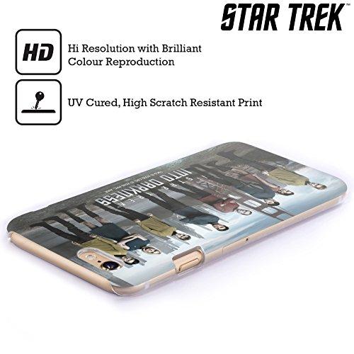 Officiel Star Trek Groupe Personnages Dans Obscurité XII Étui Coque D'Arrière Rigide Pour Apple iPhone 6 / 6s