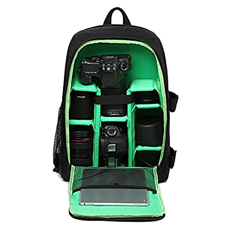 00f5445637 Amazon.com   G-raphy Camera Backpack Waterproof for DSLR SLR Cameras ...