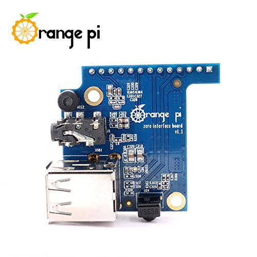 Quickbuying Specialized Expansion Board for Orange Pi Zero PC IO Microphone USB