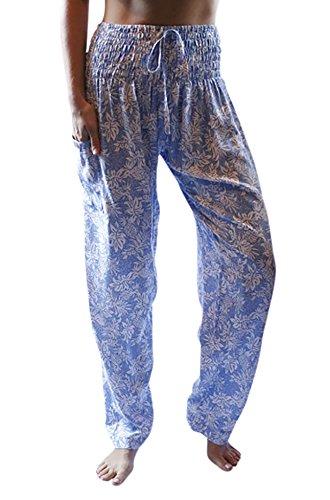 (PIYOGA Women's Petite Yoga Pants, Straight Leg (US 0-10) - Aquamarine Pineapple Party)