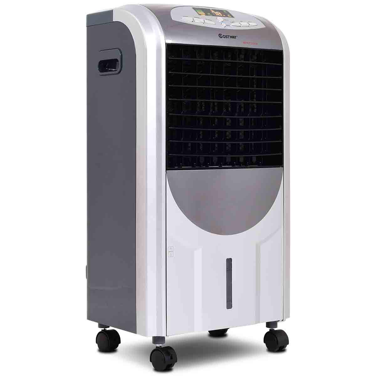 Toolsempire Evaporative Air Conditioner Cooler Fan and Heater Humidifier Portable 3 Wind Speed Remote Control
