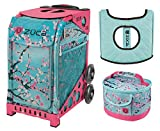 zuca bag with frame - Zuca Hanami Sport Insert Bag and Pink Frame with Flashing Wheels, Matching Lunchbox and Seat Cushion