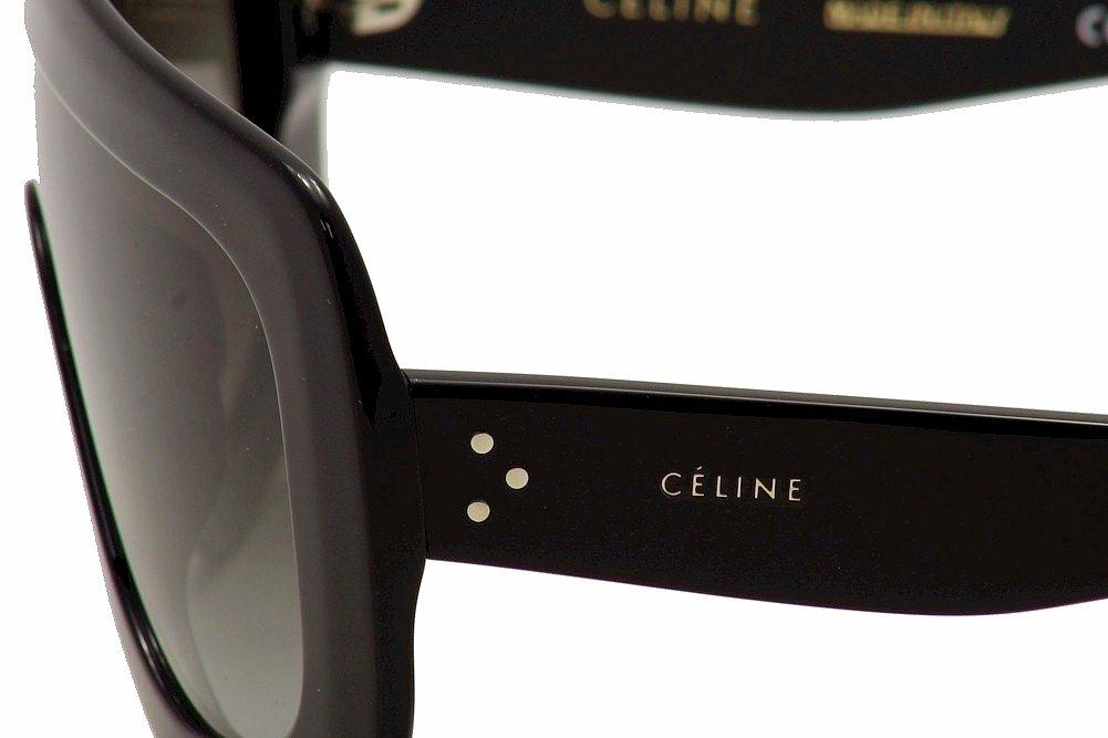 c968736f558f Amazon.com: Celine 41377/S 807 Black 41377S Visor Sunglasses Lens Category  2 Size 99mm: Clothing